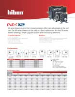 Hibon NX12 Technical Brochure