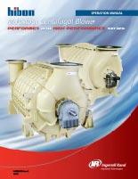 Hibon Multistage Centrifugal Blower Installation, Operation & Maintenance Manual