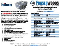 Hibon VTB 8902 XL Blower Spec Package