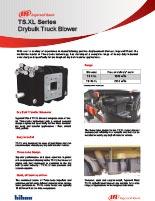 Hibon TS XL Drybulk Series Truck Blower Brochure